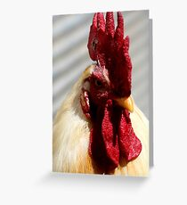 One Badass Mother Clucker Greeting Card