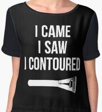 I Came i Saw i CONTOURED - Make up Artist Design brush Women's Chiffon Top