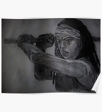 Walking Dead Michone Poster