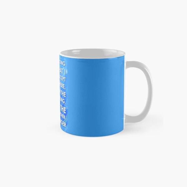 J.D. Salinger Quote - Saphire Classic Mug