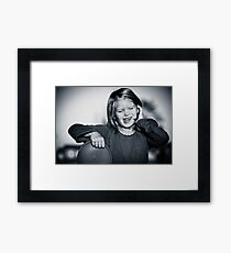 Girl Framed Print