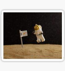 Lego Moon Walk - One really, really small step... Sticker