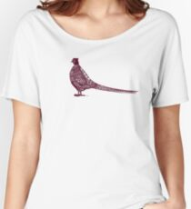 Pheasant Women's Relaxed Fit T-Shirt