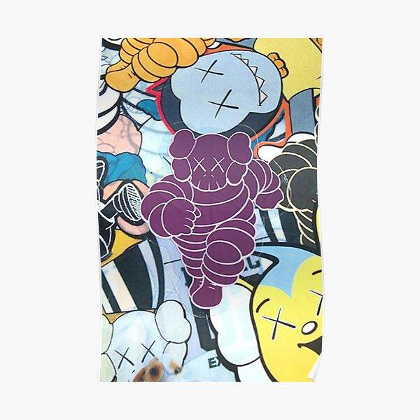poupée violette Poster