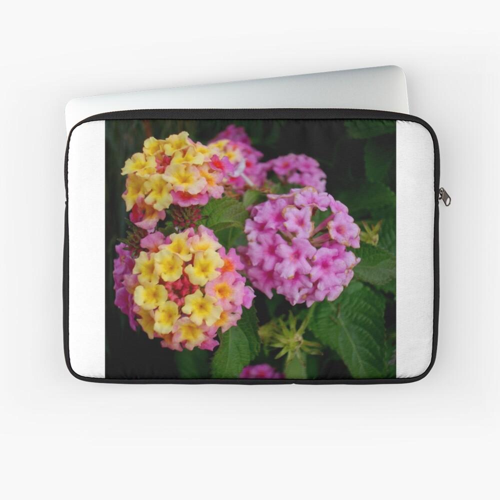 Festliche Blumen Laptoptasche