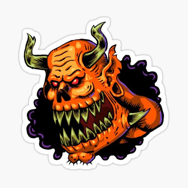 The demon head Sticker