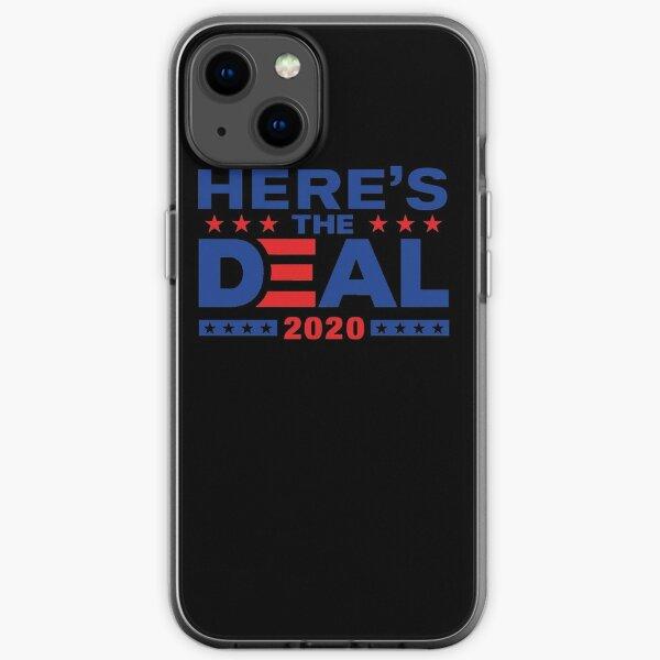 Here&x27;s The Deal Biden Trump Debate Mix WTFBrahh Classic T-Shirt iPhone Soft Case