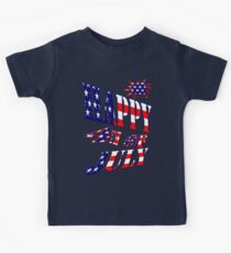 Happy 4th of July-  Art + Products Design  Kids Tee