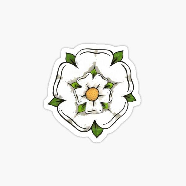 Reyt Good Yorkshire Rose. Sticker