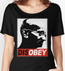DISOBEY Women's Relaxed Fit T-Shirt