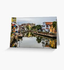 The Venice of the East  Greeting Card