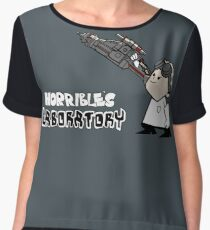 Horrible's Laboratory Women's Chiffon Top