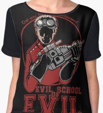 Dr. Horrible's Evil School of Evil Women's Chiffon Top