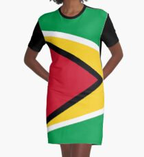Guyana Graphic T-Shirt Dress