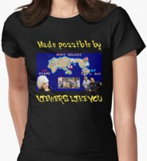 Viewers Like You: Championship Edition Women's Fitted T-Shirt