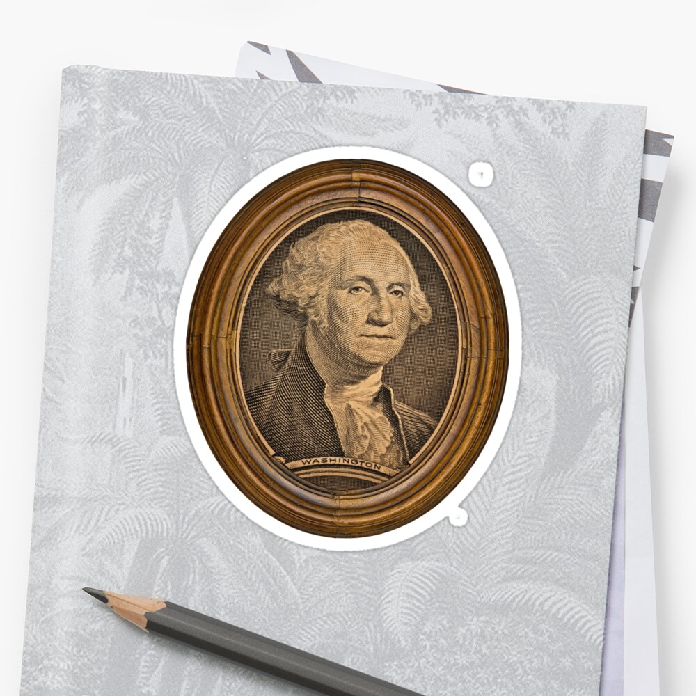 Vintage President  G.Washington Portrait by Val Goretsky