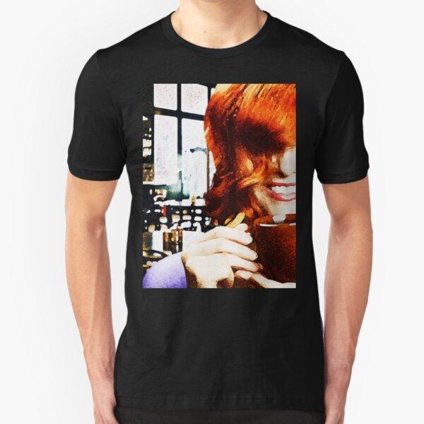 Coffee? Slim Fit T-Shirt