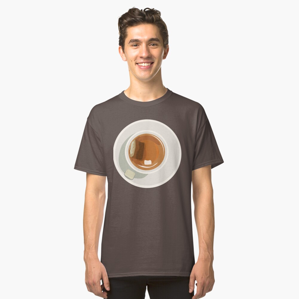 When the tea is hot Classic T-Shirt