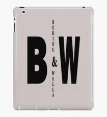 Bering & Wells minimalist text design iPad Case/Skin