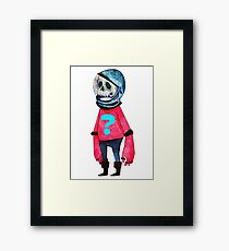 Space Kid Framed Print