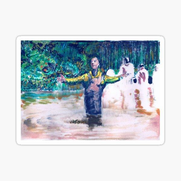 Delmar's Baptism Sticker