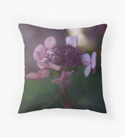 Amethyst and Emerald  Throw Pillow