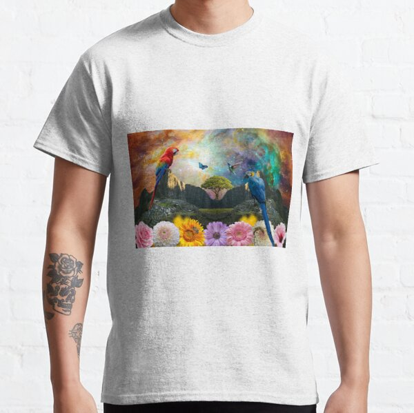 Sacred Macaw Dreaming Classic T-Shirt
