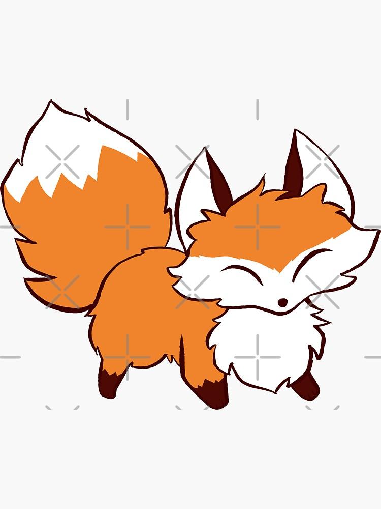 Fluffy Fox by SaradaBoru