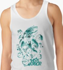 This Is Horror Green on White OctoTerror Tank Top