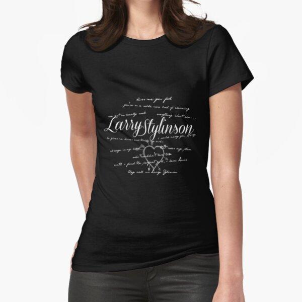 Larry Stylinson Quotes Camiseta entallada