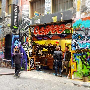 graffiti lane  by kezzamccwill