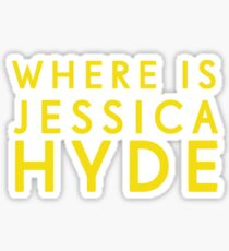 'Where is Jessica Hyde' from Channel 4's Utopia  Sticker