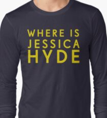 'Where is Jessica Hyde' from Channel 4's Utopia  Long Sleeve T-Shirt