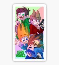 Eddsworld Poster Sticker