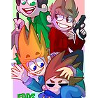 Eddsworld Poster by Lukas Miltenburg