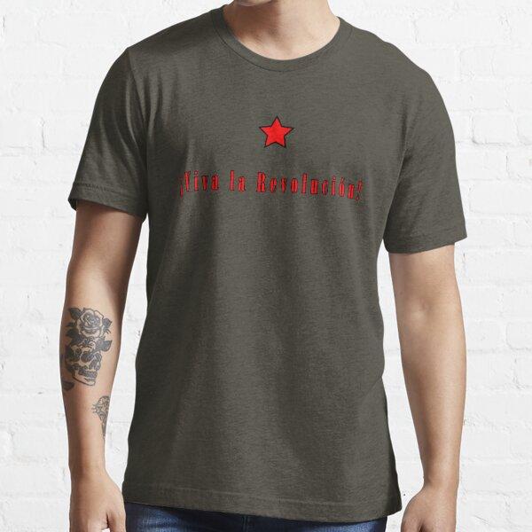 Che Guevara; Viva la revolucion Essential T-Shirt
