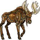 Mechanimal - Moose by derangedhyena