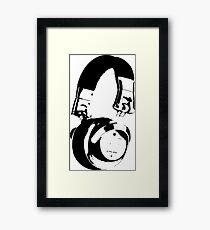 Pass the Headphone Jack Framed Print