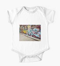 Melbourne Graffiti  One Piece - Short Sleeve
