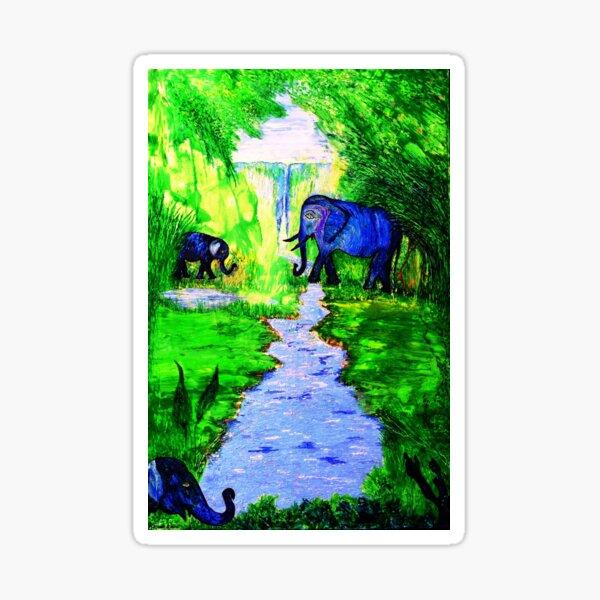 Elephant Sanctuary Sticker