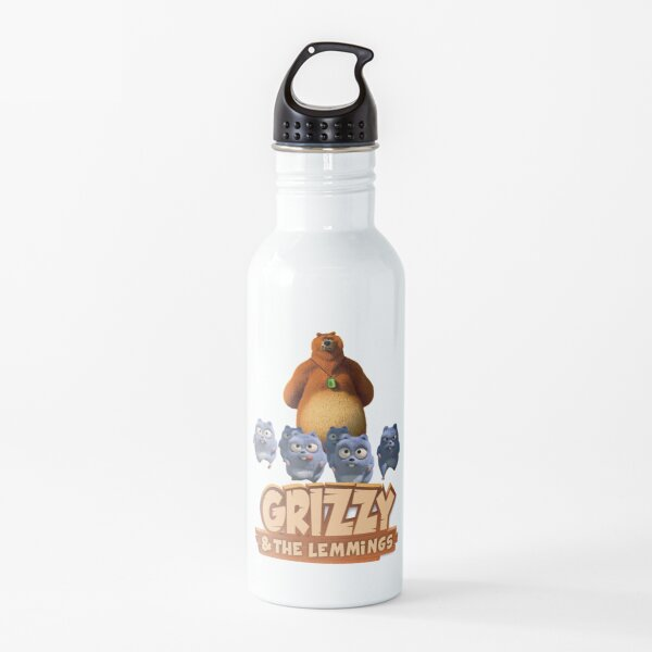 Grizzy And The Lemmings Toddler funny kids Water Bottle