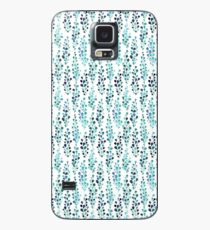Turquoise foliage  Case/Skin for Samsung Galaxy
