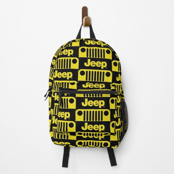 Jeep Grill (yellow) Backpack