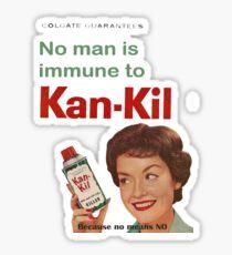 Kan-Kil Cat Call Killer RETRO Sticker