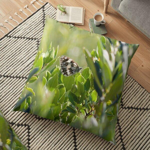 Melanargia galathea Floor Pillow