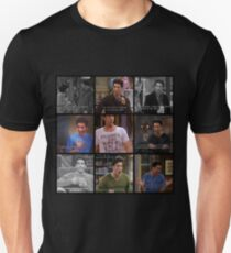 Ross Geller Quotes Collage #1 T-Shirt