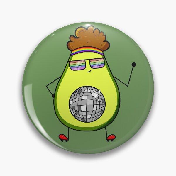Disco Avocado  Pin