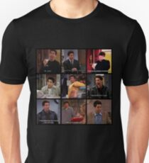 Ross Geller Quotes Collage #3 T-Shirt