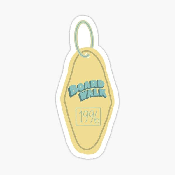 Boardwalk Key Chain Sticker