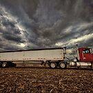Grain Truck by Steve Baird